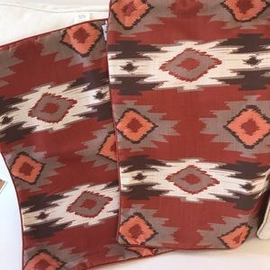 Throw Pillow Covers, Set of 2 Southwestern
